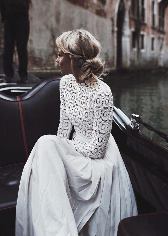 Stylish Long Sleeve Wedding Dresses to Rock! 007