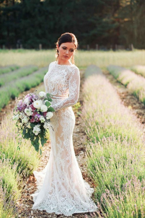 Stylish Long Sleeve Wedding Dresses to Rock! 009