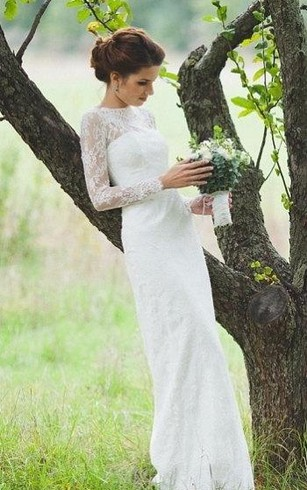 Stylish Long Sleeve Wedding Dresses to Rock! 011