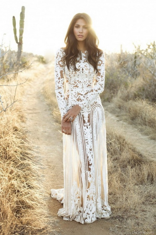Stylish Long Sleeve Wedding Dresses to Rock! 027