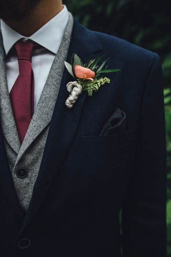 Stylish Winter Groom Attires Too Cool not to Have! 001
