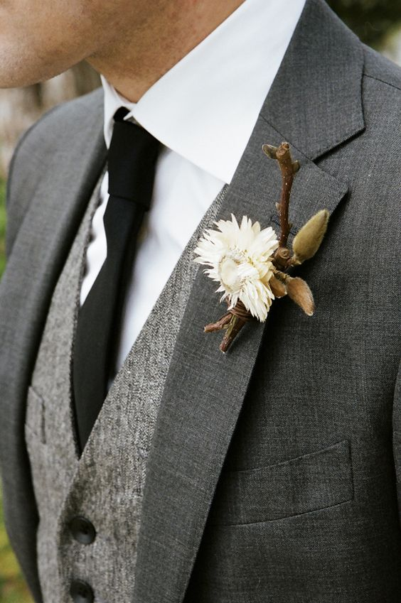 Stylish Winter Groom Attires Too Cool not to Have! 002