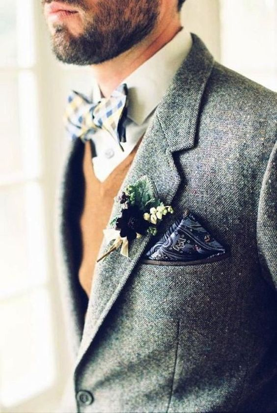 Stylish Winter Groom Attires Too Cool not to Have! 009