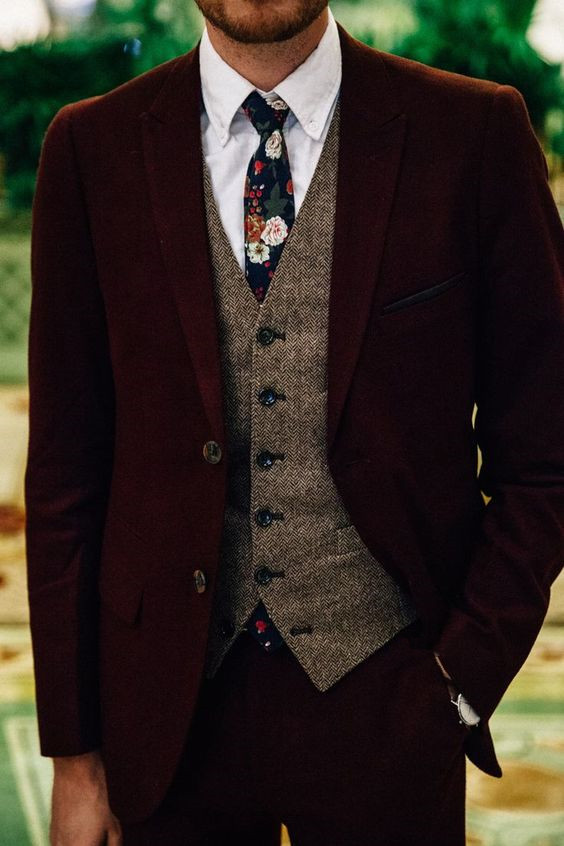 Stylish Winter Groom Attires Too Cool not to Have! 013