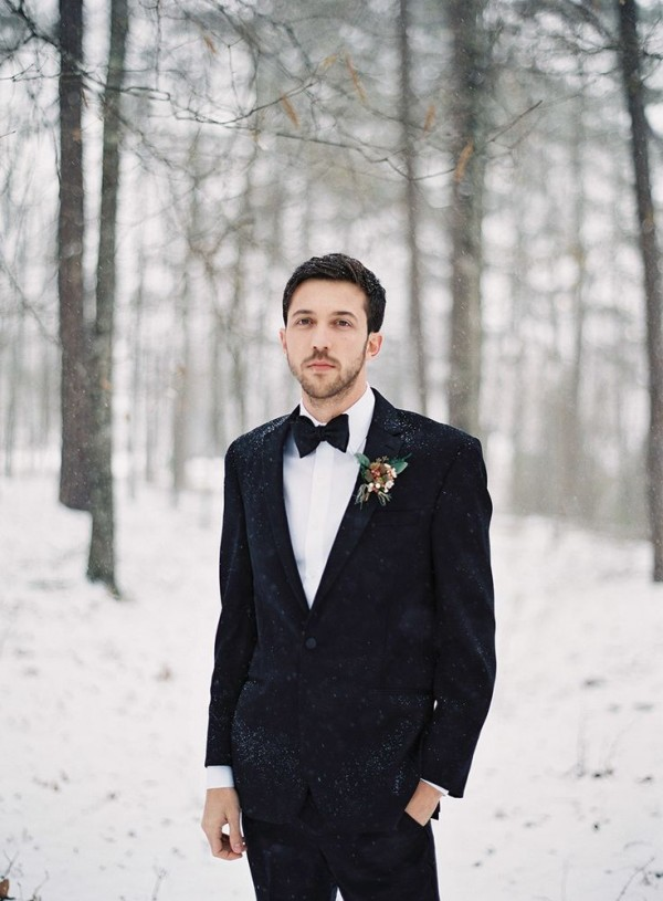 Stylish Winter Groom Attires Too Cool not to Have! 017