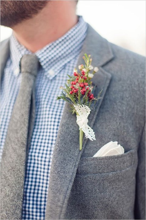Stylish Winter Groom Attires Too Cool not to Have! 023