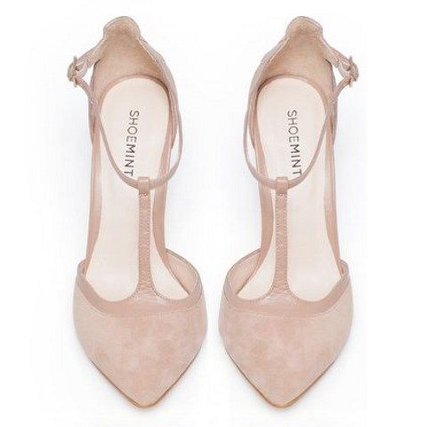 Stylish And Charming Nude Wedding Shoes To Love 001