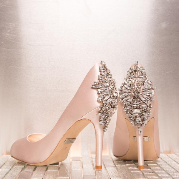 Stylish and Charming Nude Wedding Shoes to Love 004