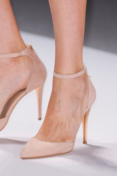 Stylish and Charming Nude Wedding Shoes to Love 010