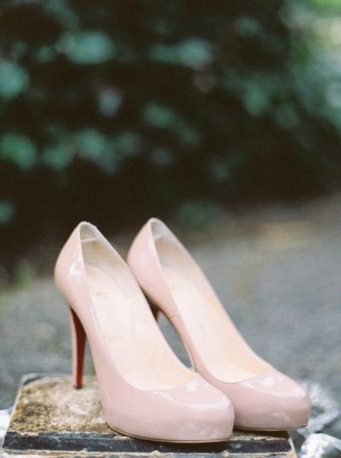 Stylish and Charming Nude Wedding Shoes to Love 022