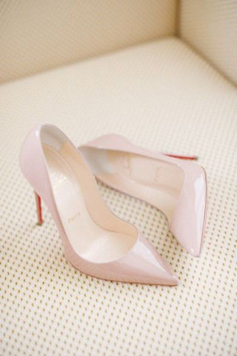 Stylish and Charming Nude Wedding Shoes to Love 027