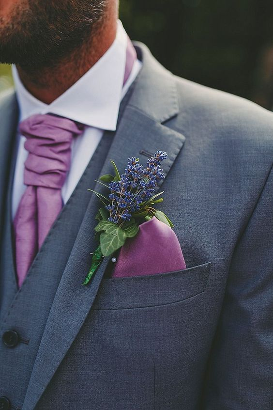 Color of 2018 ---- 24 Violet Wedding Ideas You Can't Miss! 008