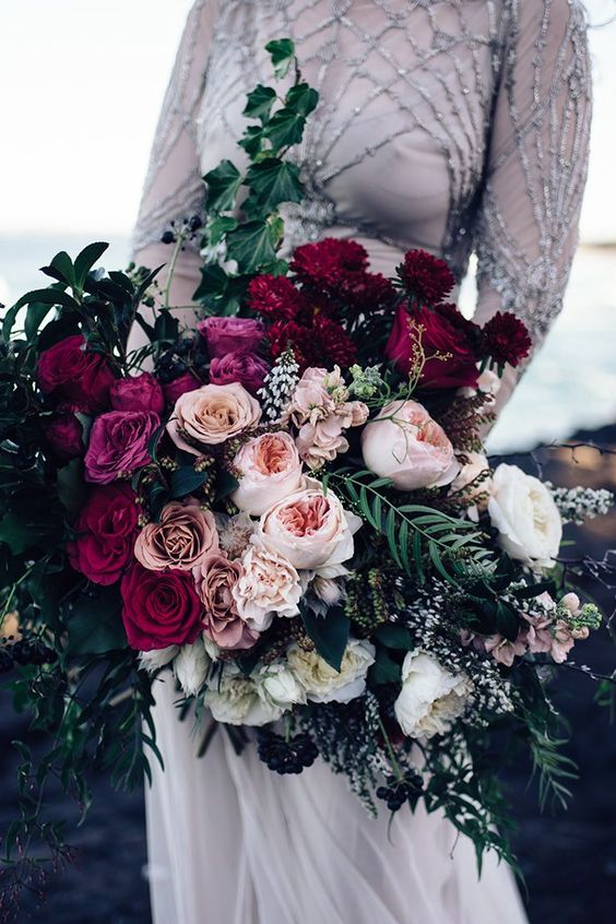 Blush wedding bouquets ideas on Pinterest
