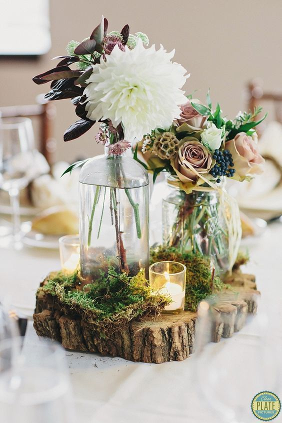 enchanted forest weddings are one of my favorite themes because they are so fairy-tale and mystique!