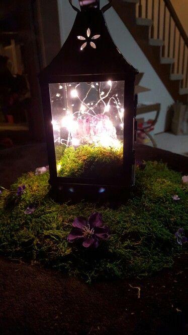 Enchanted Forest Wedding décor - centerpieces ideas