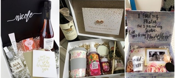 Will You Be My Maid of Honor Gift Boxes She Will Say Yes To!