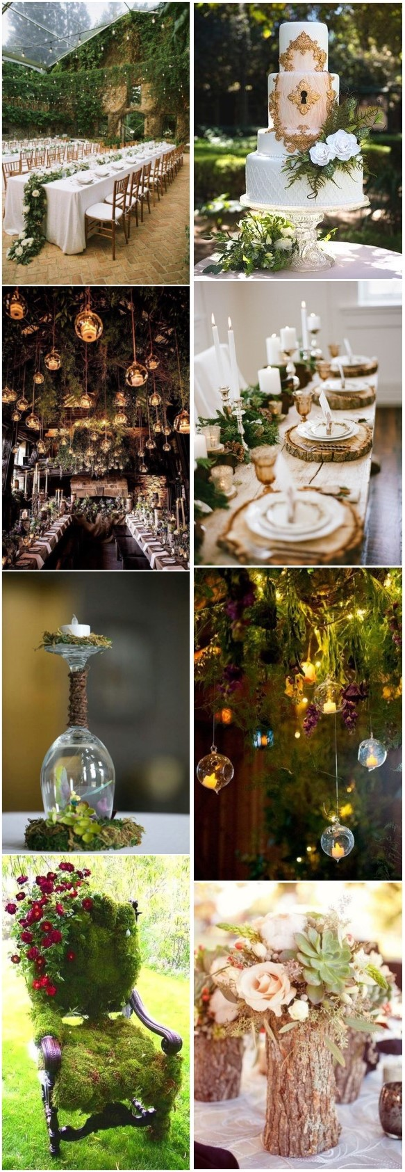 Enchanted Forest Wedding Themed Idea