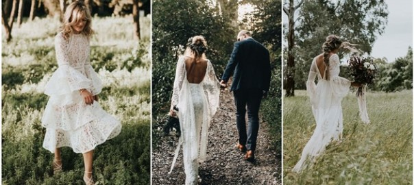 Oh So Amazing Bell Sleeve Wedding Dresses