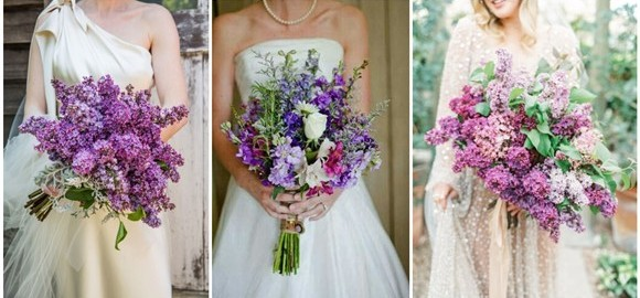 Pantone's Color Of the Year 2018 - 20 Ultra Violet Wedding Bouquet Ideas