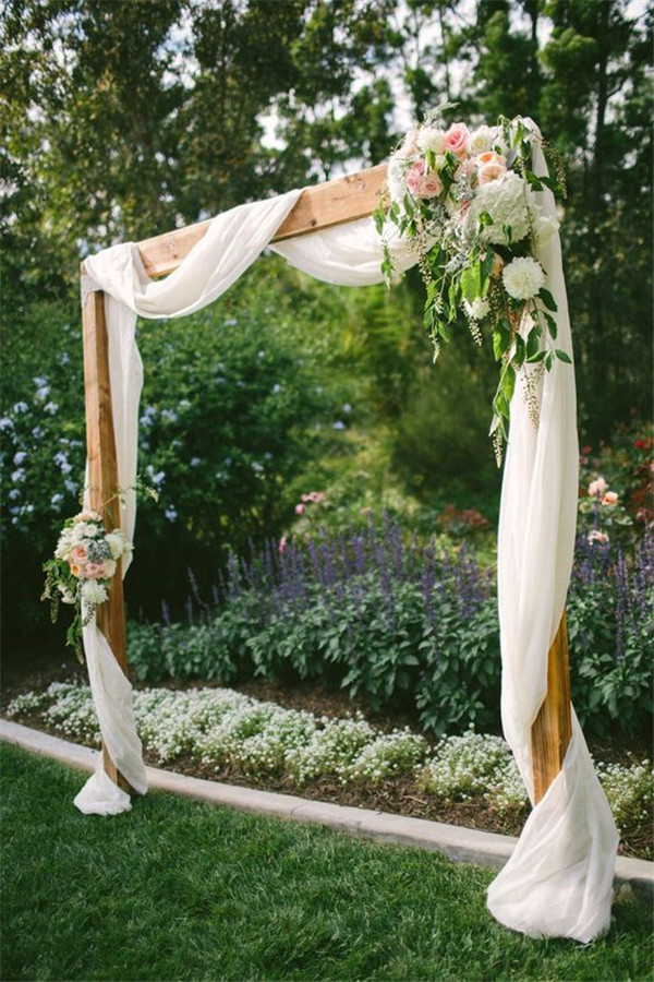 Romantic meets rustic backyard wedding photo by Vis Photography