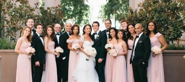18 Romantic Dusty Rose Wedding Color Ideas for 2018 Weddings-006