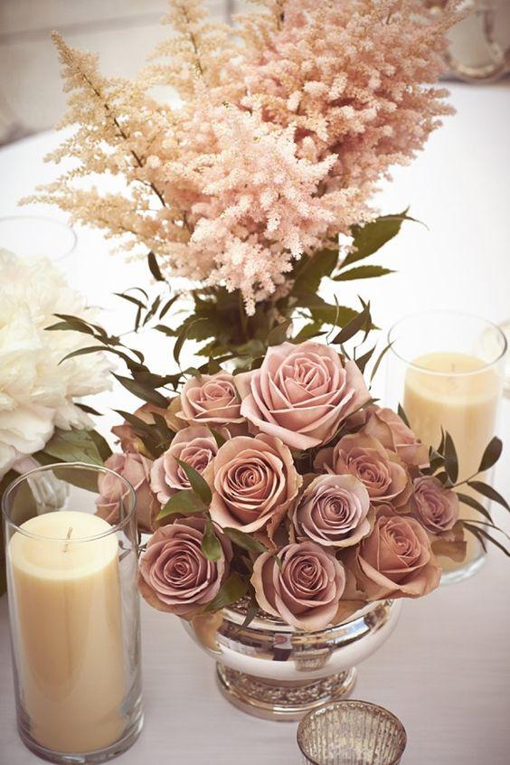 18 Dusty Rose Wedding Color Ideas For 2018 Weddings 012