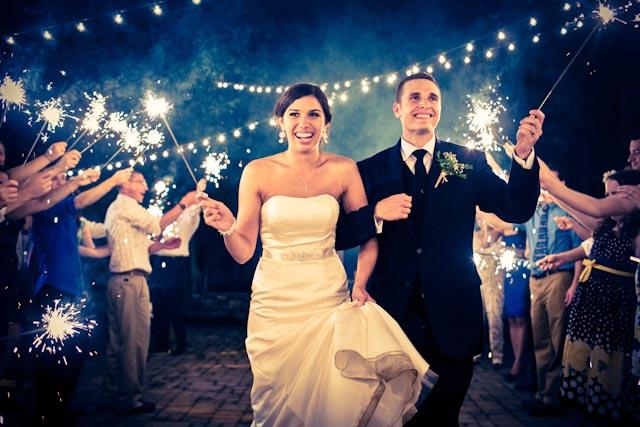20 Magical Wedding Sparkler Send-Offs for Your Wedding