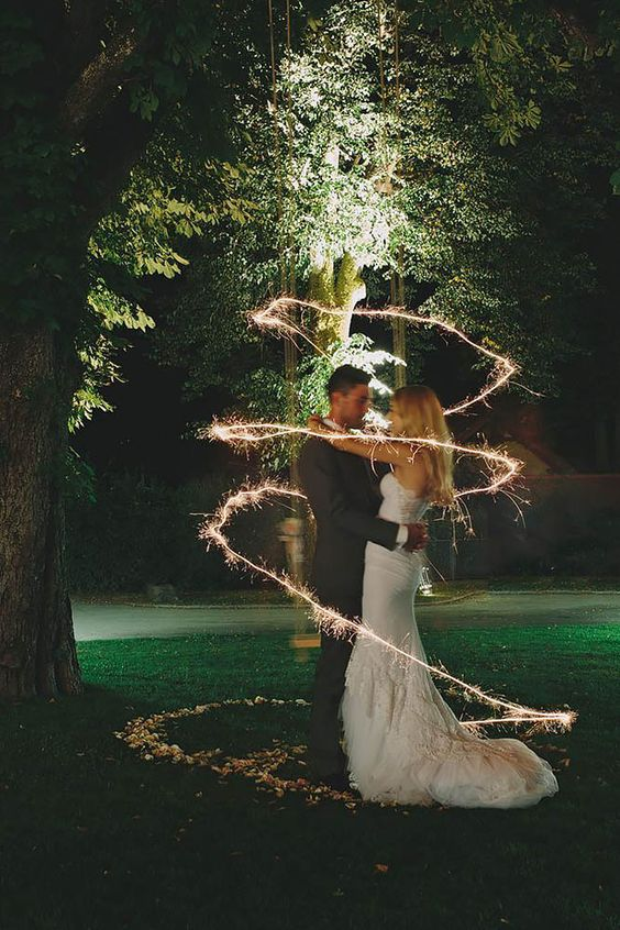 20 Magical Wedding Sparkler Send Offs For Your Wedding 017