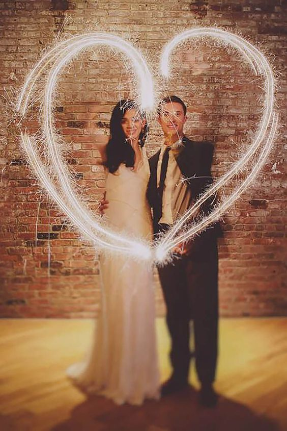 20 Magical Wedding Sparkler Send-Offs for Your Wedding