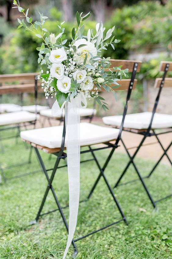 20 must have wedding chair decorations for ceremony junglespirit Image collections