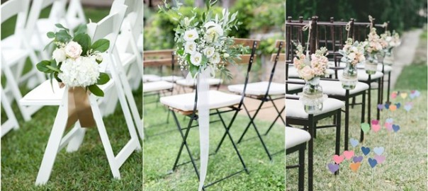 Must-have Wedding Chair Decorations for Ceremony