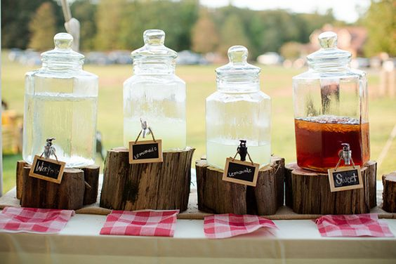 Bbq drink bar ideas