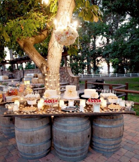 Unique Garden Wedding Ideas: 18 Budget Friendly Picnic Wedding Reception Ideas
