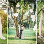 Stunning Tree Wedding Backdrop Ideas