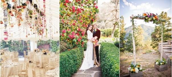 Garden Wedding Ideas | WeddingInclude | Wedding Ideas Inspiration Blog