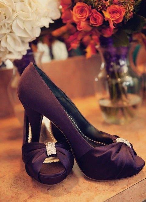 Amazing Purple Wedding Shoes!