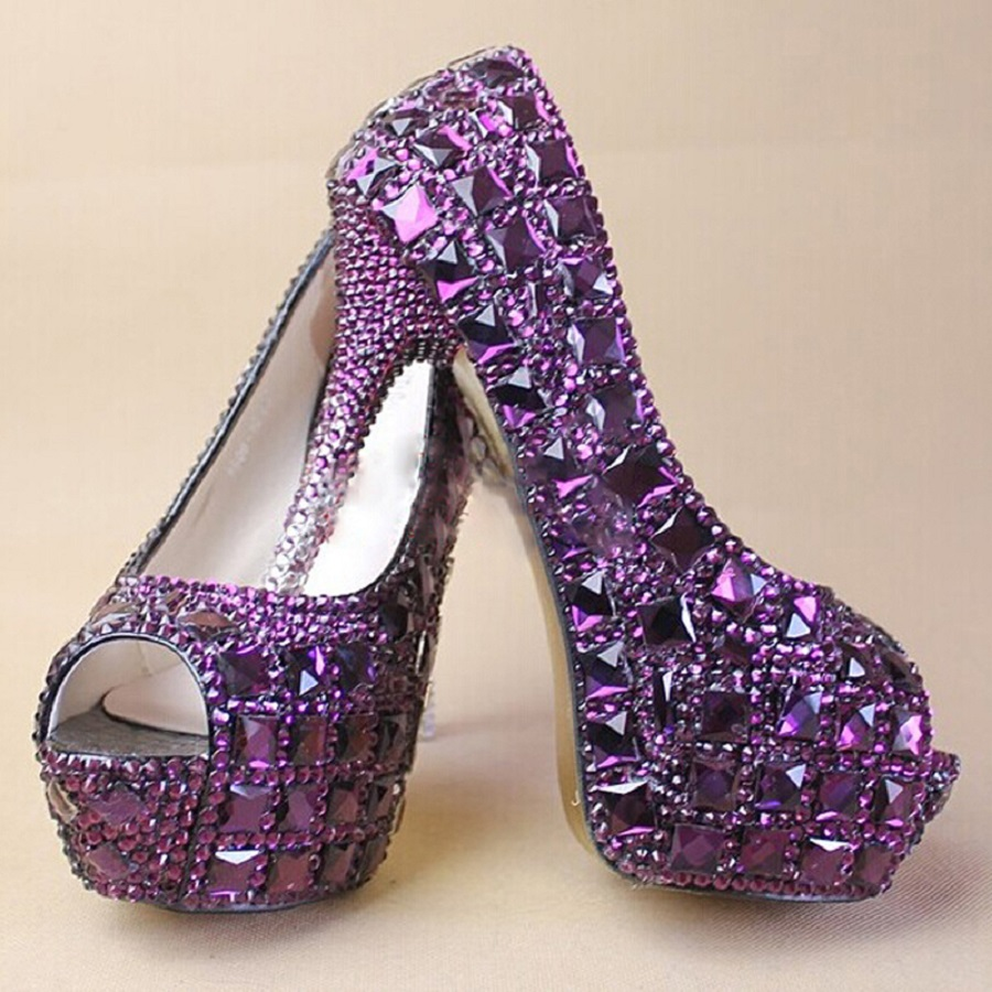 purple wedding shoes for bride a crush on the 20 amazing purple wedding shoes 6924