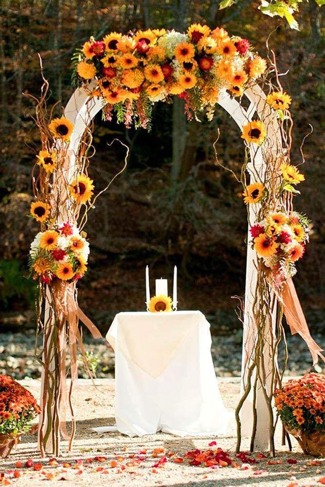 16 awesome outside fall wedding ideas junglespirit Choice Image