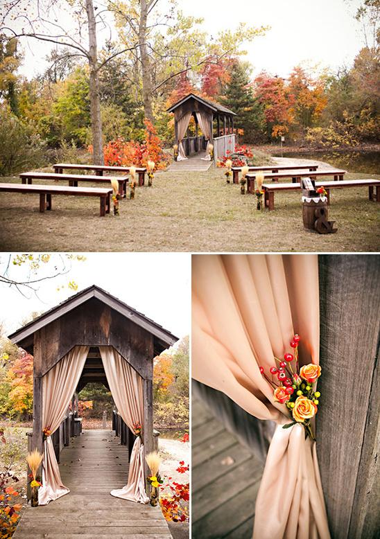 16 Awesome Outside Fall Wedding Ideas