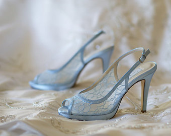 18 blue wedding shoes for stylish brides blue lace wedding shoes junglespirit Image collections