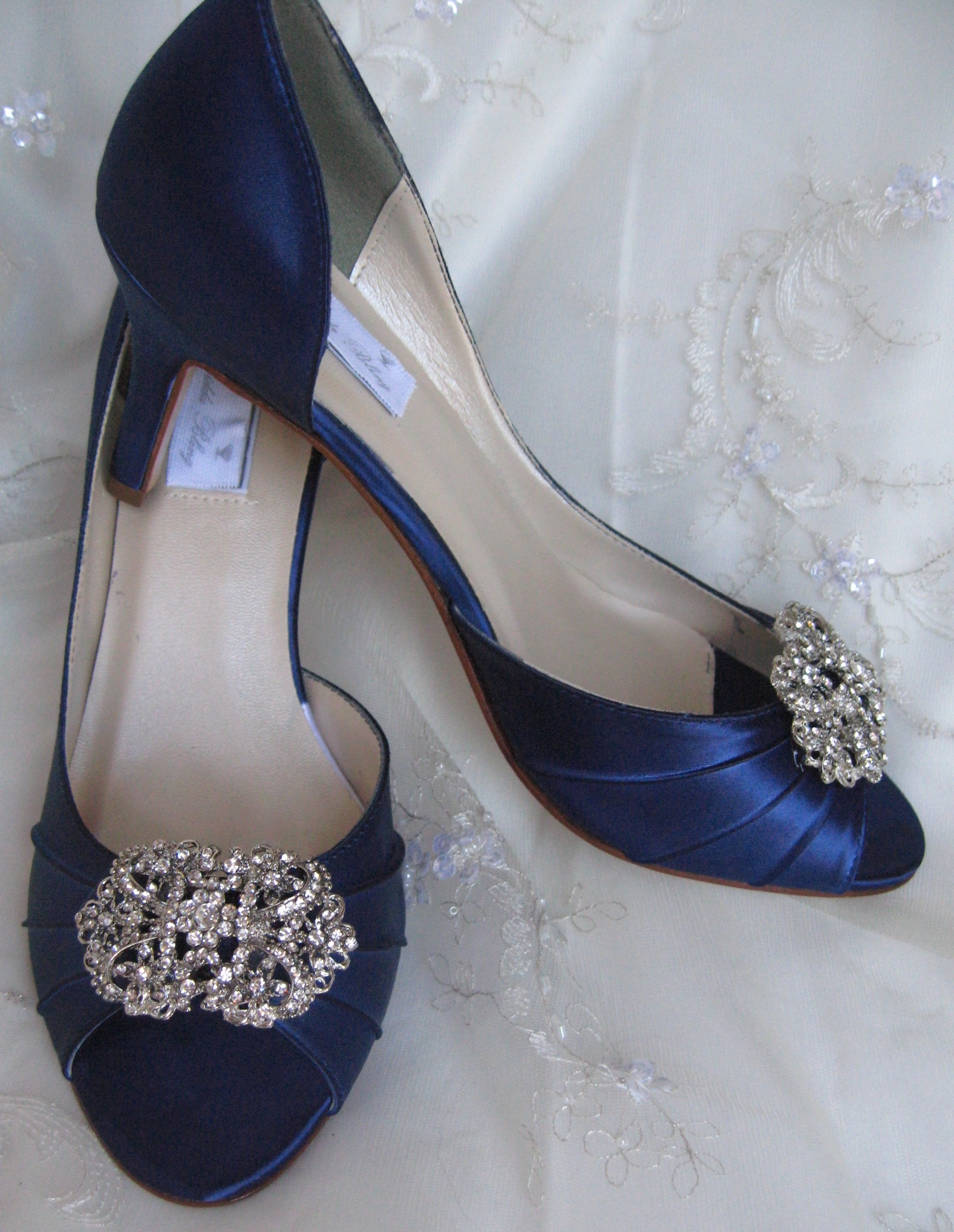 blue shoes wedding 18 blue wedding shoes for stylish brides 1945