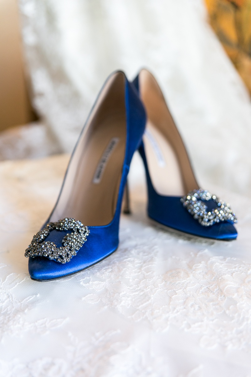 18 Blue Wedding Shoes For Stylish Brides