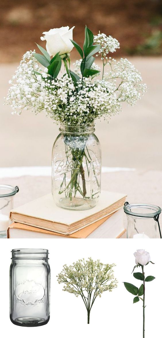 18 DIY Wedding Centerpieces on a Budget!