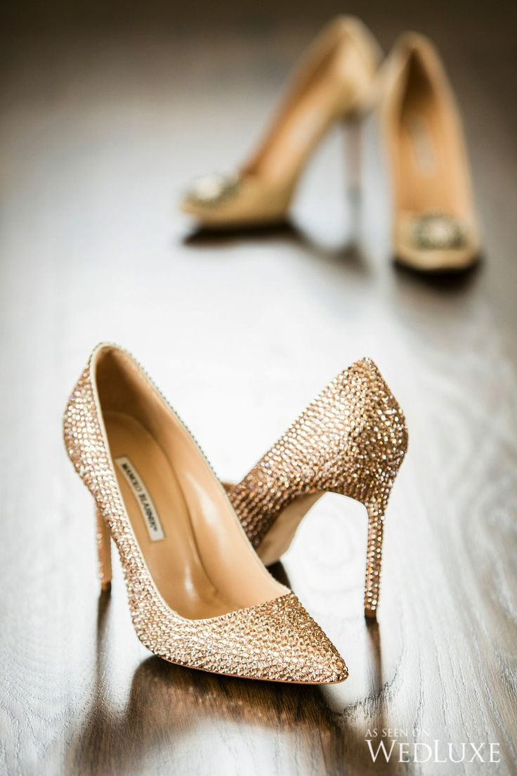 Gold Fancy Dress Shoes