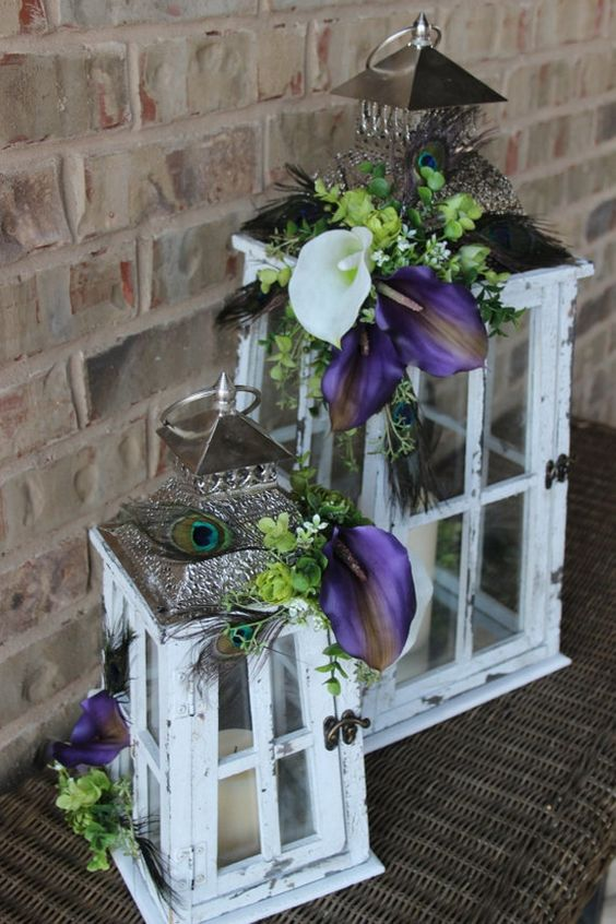 Wedding Decorations With Peacock Ideas