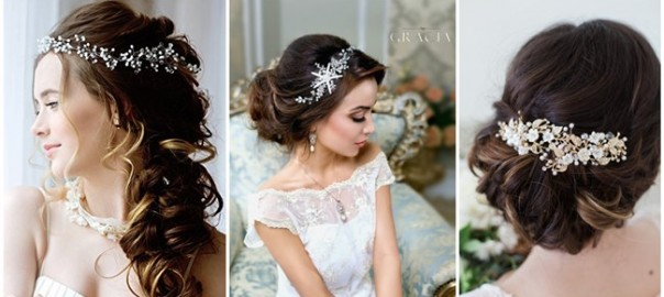 Breath-taking Wedding Hair Accessories to Embrace