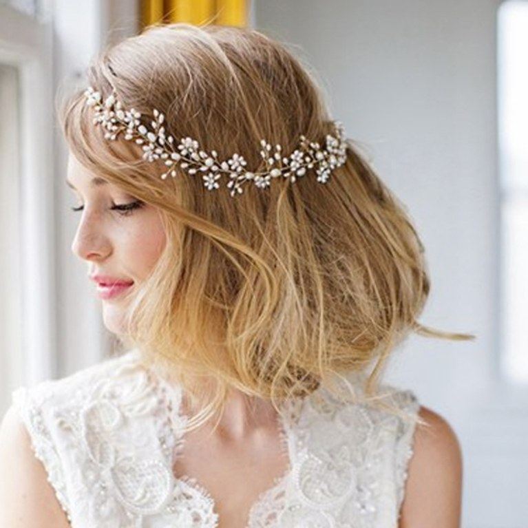 Our Favorite Wedding Day Hair Accessories for Summer