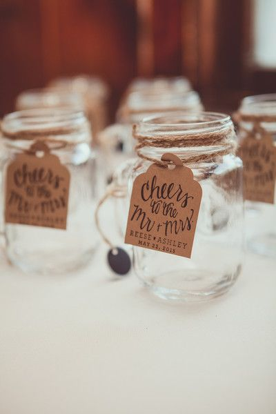 19 Cute Affordable Mason Jar Wedding Favor Ideas Your Guests Will Love