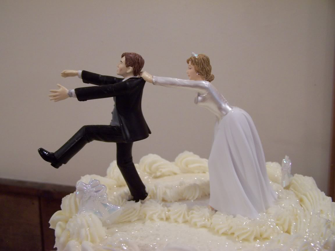 15 funny wedding cake toppers to make your guests laugh junglespirit Images