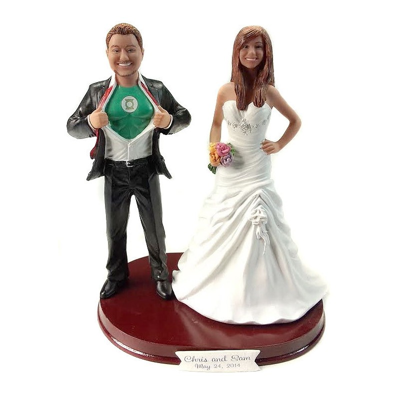 15 Funny Wedding Cake Toppers to Make Your Guests Laugh!